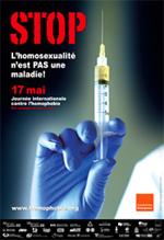 Affiche contre l'homophobie